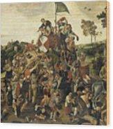 The St Martin's Day Kermis Wood Print