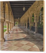 The Stanford Entrance Wood Print
