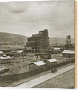 The Stanton Colliery Empire St. The Heights Wilkes Barre Pa Early 1900s Wood Print