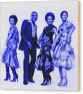 The Staple Singers Collection Wood Print