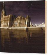 The Star Of Bethlehem Wood Print by Heinz G Mielke