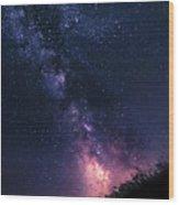 The Stargazer Wood Print