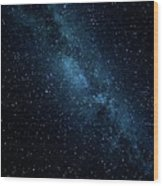 The Stars At Tuttle Creek, Lone Pine, Ca, Usa, September, 2016 Wood Print