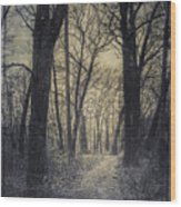 The Starting Point Wood Print