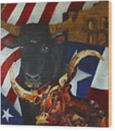The State Of The Union Wood Print