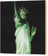 The Statue Of Liberty #2 Wood Print