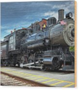 The Steam Engine #401 Wood Print