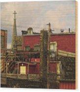 The Steeple Wood Print