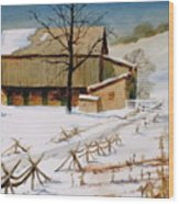 The Stein Barn Wood Print