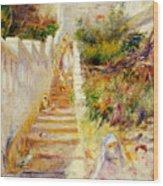 The Steps In Algiers Wood Print