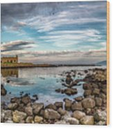 The Stilled Harbour... Wood Print