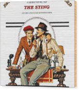 The Sting, The, Robert Redford, Paul Wood Print