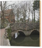 The Stone Bridge Wood Print