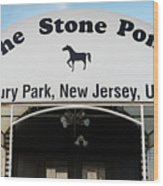 The Stone Pony, Asbury Park Wood Print