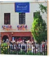 The Stonewall Inn National Monument Wood Print