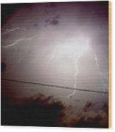 The Storm 2.3 Wood Print