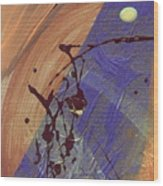 The Storm Is Still Passing 2 Wood Print