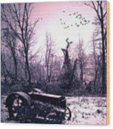 The Straggler...thurston Hollow Pa. Wood Print
