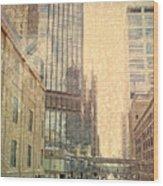 The Streets Of Minneapolis Wood Print