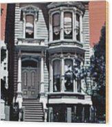 The Streets Of San Francisco Wood Print