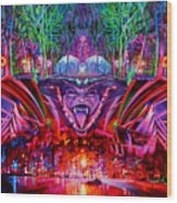 The String Cheese Incident-hulaween Wood Print