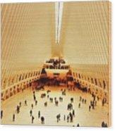 The Stunning Oculus In New York  Wood Print