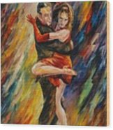 The Sublime Tango  Wood Print