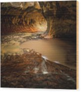 The Subway - Zion National Park Wood Print