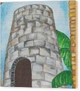 The Sugar Mill Wood Print