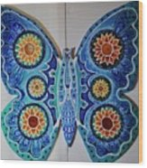 The Summer Butterfly Wood Print