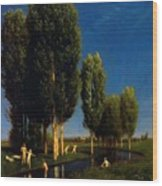 The Summer Day 1881 Wood Print