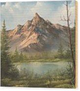 The Summit  Wood Print