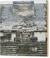 The Sun God Temple Wood Print