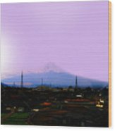 The Sun Still Rises In Japan . All Proceeds Will Go To Japan Earthquake And Tsunami Relief Aid 2011 Wood Print