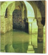 The Sunken Crypt Of San Zaccaria Wood Print