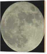 The Super Moon 3 Wood Print
