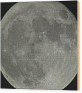 The Super Moon 4 Wood Print