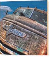 The Survivor - '42 Chevy Wood Print