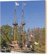 The Susan Constant Wood Print
