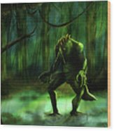 The Swamp Wood Print