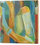 The Sweet Kiss Wood Print by Habib Ayat