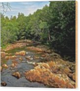 The Swift River In South Tamworth Wood Print