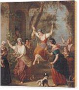 The Swing, 1848 Wood Print