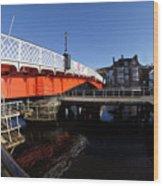 The Swing Bridge Wood Print