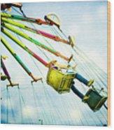 The Swings Wood Print
