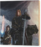 The Sword Of The South Wood Print