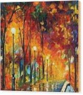 The Symphony Of Light Wood Print