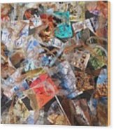 The Synergies Of Recycling Wastes And Intellects #3005 Wood Print