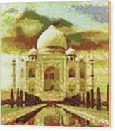 The Taj Mahal Wood Print