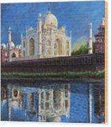 The Taj Mahal Shrine Of Beauty Wood Print